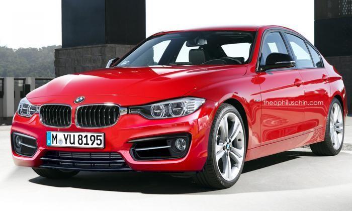 BMW 3-Series facelift render shows minor cosmetic tweaks