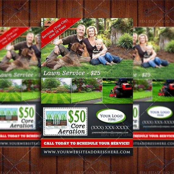 Lawn Care Door Hanger Design 49 best lawn care marketing images on pinterest | hangers, lawn