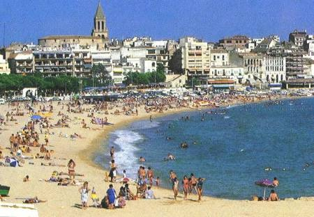 Palamos, Spain, where I vacationed as a child.
