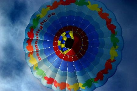 For a classic, try a hot air balloon ride!