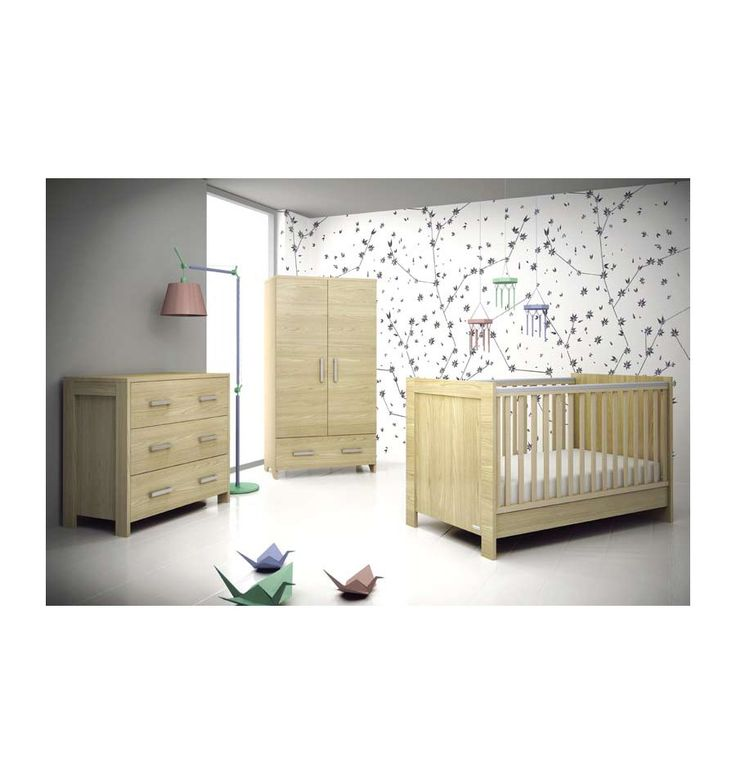 Chambre à coucher bébé complète NATURA- Chambre bébé