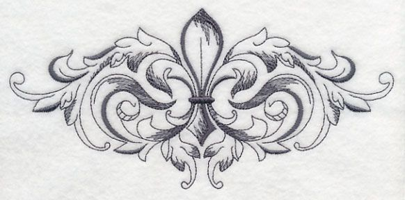 Machine Embroidery Designs at Embroidery Library! - Baroque Fleur ...