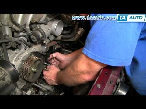 How To Replace Toyota Tundra Timing Belt 2002 V8 Disassemble Front of Engine PART 2 1AAuto.com - http://www.thehowto.info/how-to-replace-toyota-tundra-timing-belt-2002-v8-disassemble-front-of-engine-part-2-1aauto-com/