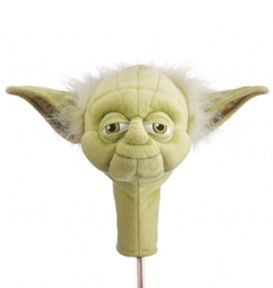 Star Wars 'Yoda' Golf Club Hybrid/Putter Novelty Golf Headcover