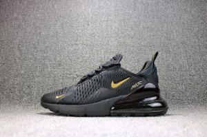 purchase cheap b83fb 2fb4f Mens Womens Nike Air Max 270 Flyknit Black Hot Punch AH8050 010 Running  Shoes