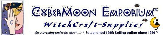 Welcome to CyberMoon Emporium WitchCraft Supplies Wicca Supplies Store, offering metaphysical and pagan supplies for all your altar, ritual and spell crafting needs, Celtic Witch and Wiccan Jewelry
