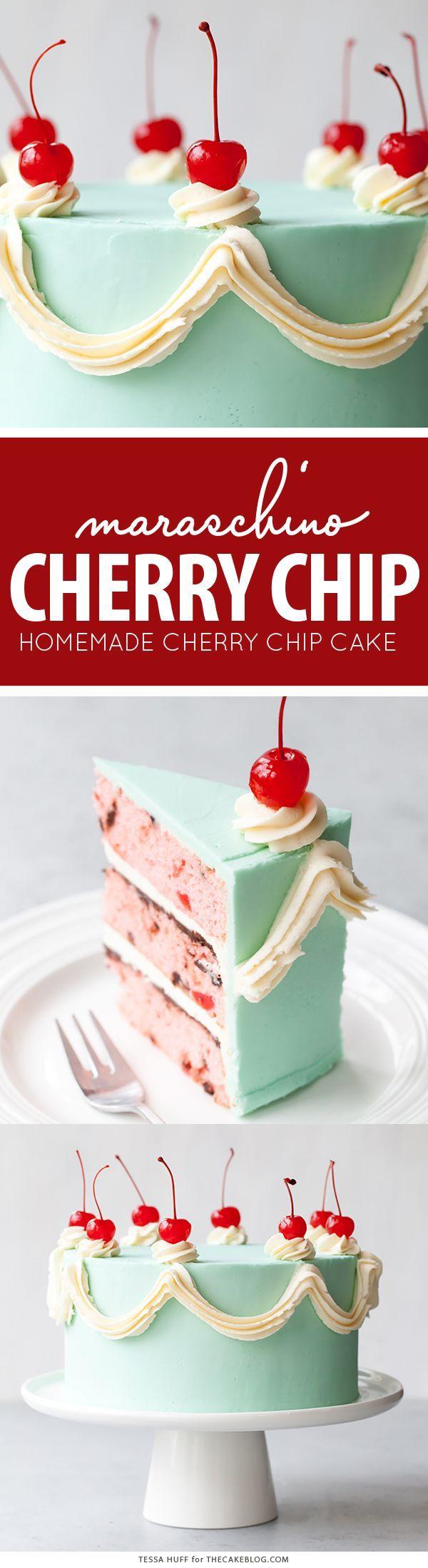 Cherry chip cake frosting recipe