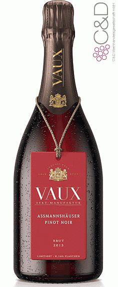 Folgen Sie diesem Link für mehr Details über den Wein: http://www.c-und-d.de/Rheingau/Assmannshaeuser-Pinot-Noir-Sekt-Brut-2013-Schloss-Vaux_68600.html?utm_source=68600&utm_medium=Link&utm_campaign=Pinterest&actid=453&refid=43 | #wine #redwine #wein #rotwein #rheingau #deutschland #68600