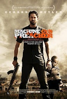 Machine Gun Preacher (2011) -   JohnnyTwoToes reviews the action biopic about Sam Childers, former gang biker turned preacher and defender of African orphans