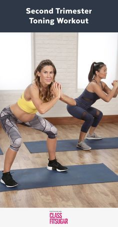 P: Stay fit and strong while pregnant with this prenatal workout video. LA-based trainer Sara Lewis provides modifications to take you well into your third trimester. Do check with your doctor before starting an exercise program if you are expecting.
