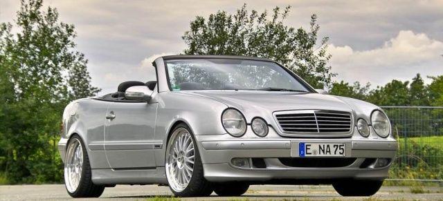 Flotte Frischzelle - Mercedes-Benz CLK Cabriolet (C208): 2001er Mercedes CLK 430 bietet Open Flair