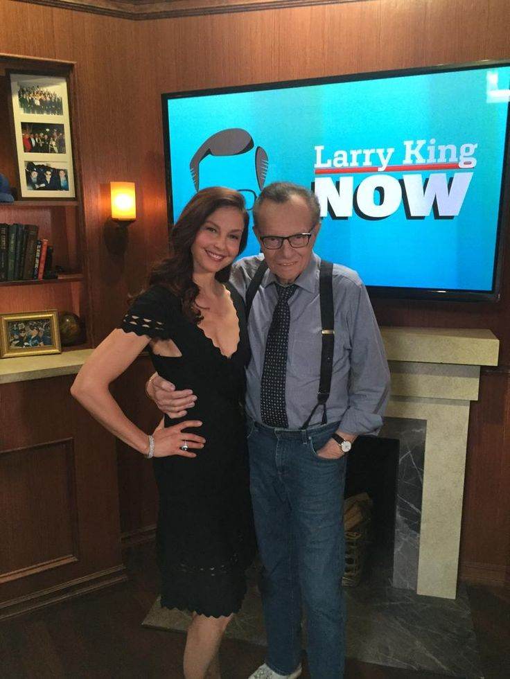 Ashley Judd & Larry King