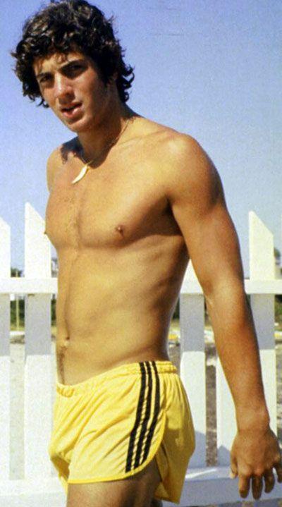 jfk jr shirtless | john-kennedy