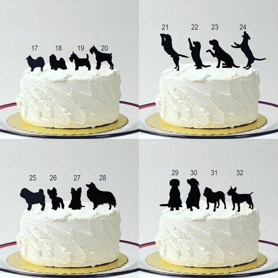 Include Your Dog Silhouette Wedding Cake Topper With Dog Pet Etsy In 2020 Dog Cake Topper Wedding Wedding Cake Toppers Animal Cake Toppers Wedding