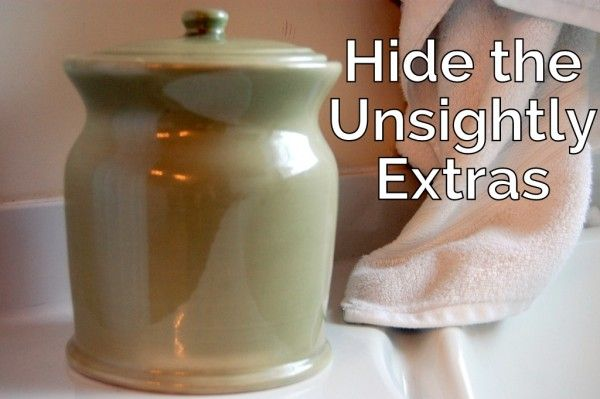 Dishes to Hide Extras Out of Sight