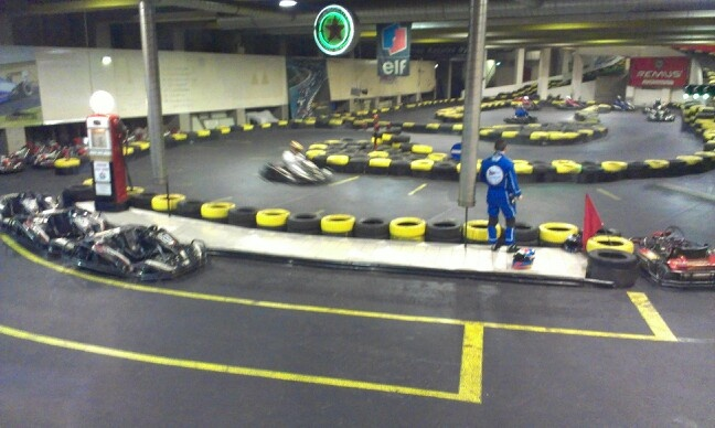 Indoor  karting for the winter
