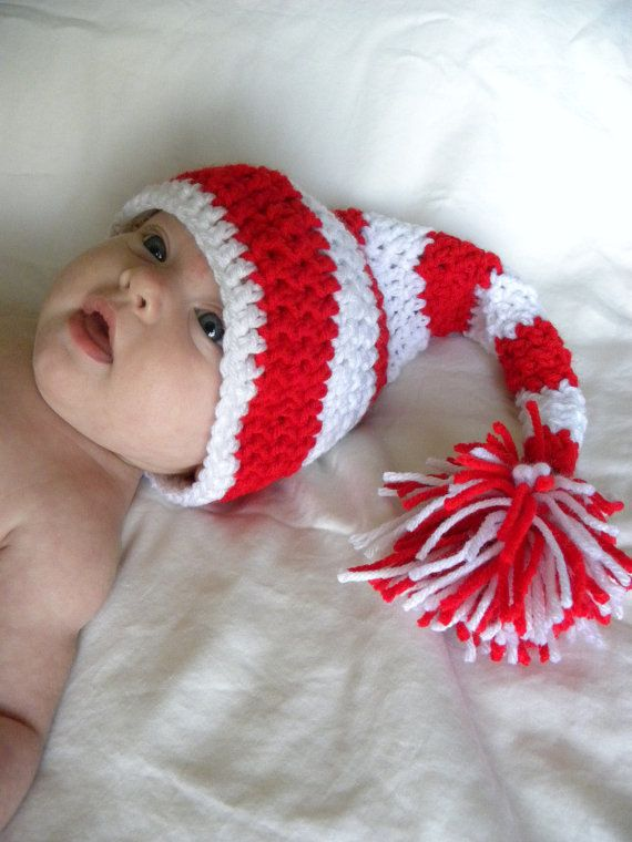 Crochet Pattern Stocking Hat : Crochet Baby Stocking Hat Pattern Crochet Pinterest