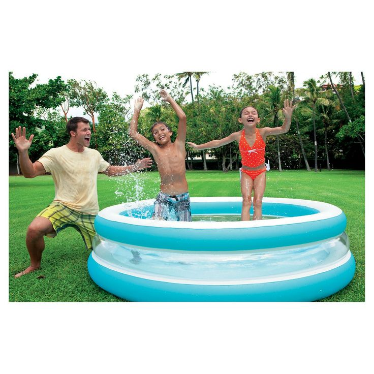 17 best ideas about intex swimming pool on pinterest above ground pool landscaping above for Can babies swim in saltwater pools