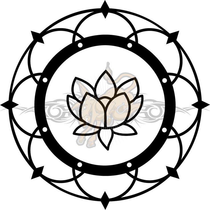 flor de loto dibujo a lapiz - Buscar con Google
