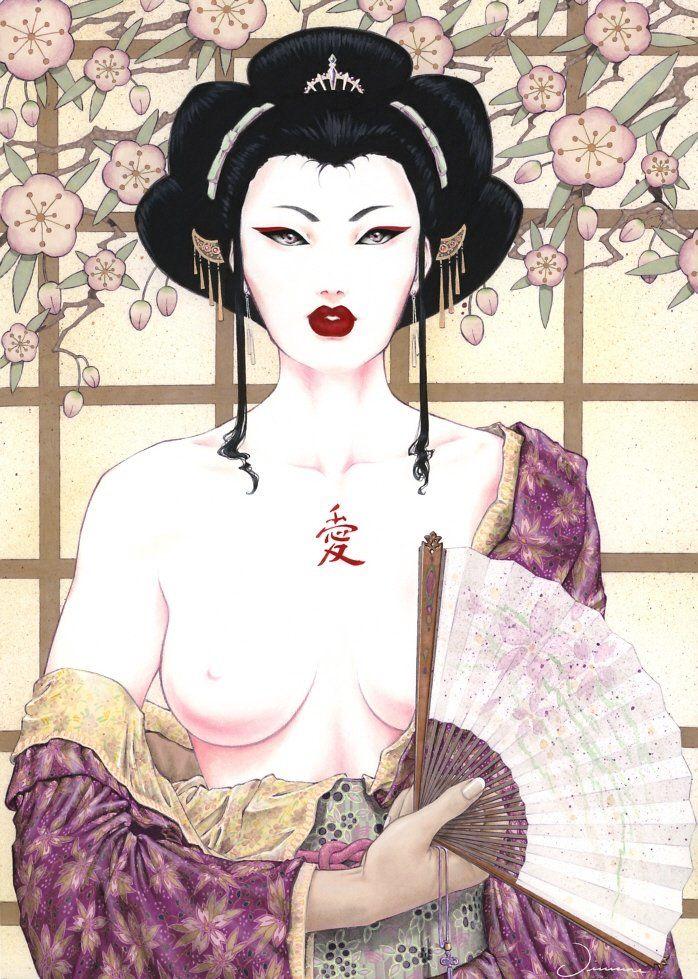 Ai-Geisha — Viviane Manga