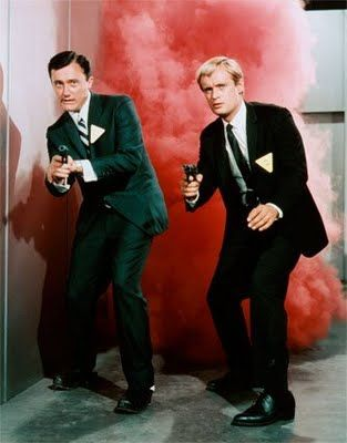 The Man From U.N.C.L.E. followed the exploits of two secret agents, Napoleon Solo (Robert Vaughn) and Illya Kuryakin (David McCallum). My favorite TV show from my high school years.
