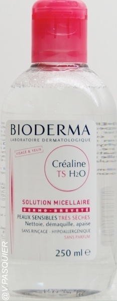 BIODERMA : BIODERMA CREALINE TS H2O SOLUTION MICELLAIRE PEAUX TRES SECHES
