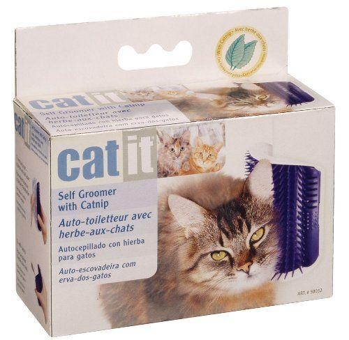 Catit Self Groomer with Catnip Catit http://smile.amazon.com/dp/B001B58L0O/ref=cm_sw_r_pi_dp_dRGBvb1JJG59Q