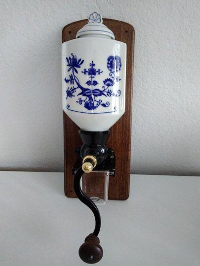 Ručný mlynček na kávu nástenný e27a177e20a