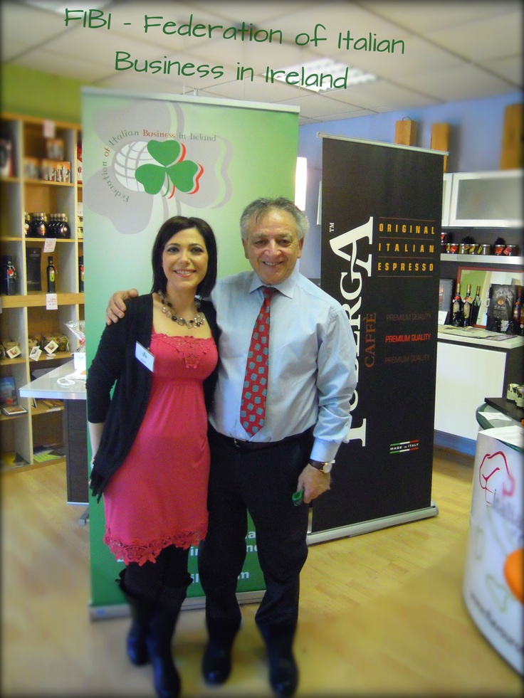 with the Italian Chef Fresilli in Ireland