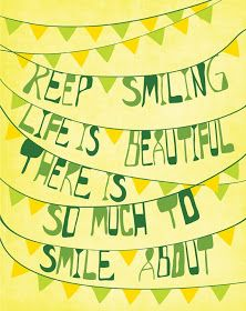 iheartprintsandpatterns: Keep Smiling