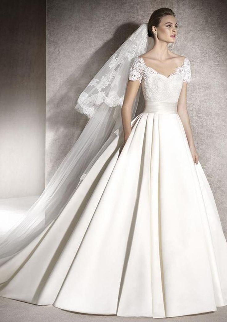 Klassieke trouwjurk San Patrick Melisa (Pronovias fashion group)
