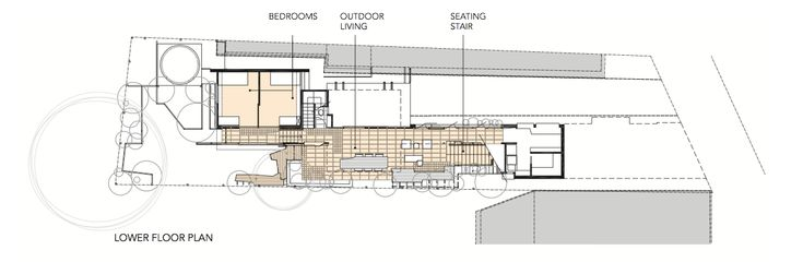 Left Over Space House by Cox Rayner Architects (via Lunchbox Architect)
