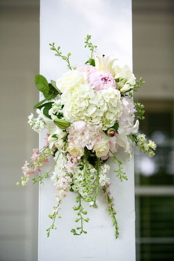 Floral Decorations for the wedding ceremony.
