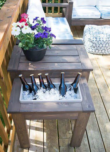 15 Doable Designs For A Diy Patio Table For The Home Pinterest