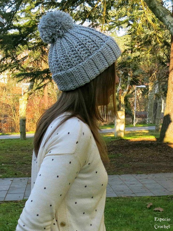 Mejores 21 imágenes de gorros de punto en Pinterest | Sombreros de ...