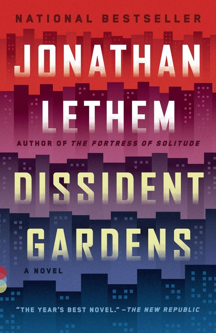 Find This Pin And More On Great Literary Fiction Book Covers The Paperback  Of Jonathan Lethem's