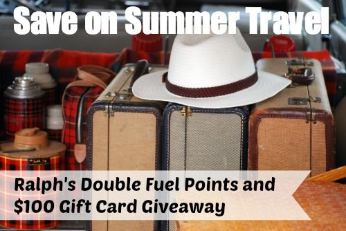 Enter to win a $100 gift card to Kroger affiliate stores and find out how you can get double the gas rewards at Ralph's grocery store.