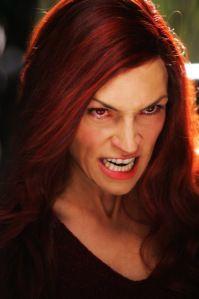 """""""Bitch, you look fierce..."""" Famke Janssen as Dark Phoenix, Jean Grey, in X-Men 3: The Last Stand."""