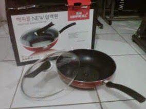 BG homeshoping Magelang: Happy Call Diamond Wok Pan 32 cm Murah Magelang