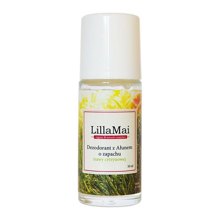 LILLA MAI Naturalny dezodorant z ałunem Trawa cytrynowa - Nieprzyzwoicie naturalny sklep dla kobiet lubiących siebie