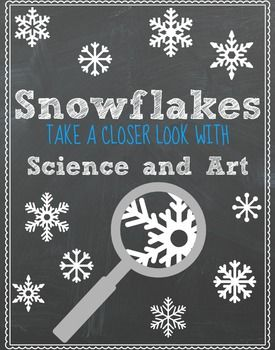 Take a closer look at a snowflake through basic science and art.Science Vocabulary of a snowflakeWord Wall vocabulary cardsmatching vocabulary cardsvocabulary worksheets (2)Life Cycle of a SnowflakeSnowflake FactsSnowflake Fact ReviewSnowflake sequencing cardsHow to draw a snowflake (cards + worksheet)Snowflake bannerPipe cleaner snowflake art/ experimentVideo suggestions