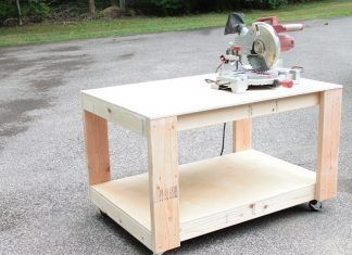 DIY Woodworking Ideas How to Build a Super Easy and Sturdy DIY Workbench