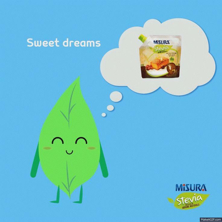 Sweet dreams are made of….Misura Stevia, naturalmente! www.misurastevia.it #stevia #natural #sweetness #recipes
