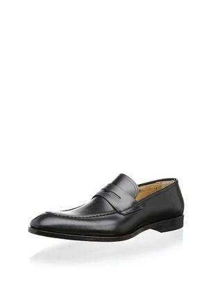 60% OFF Antonio Maurizi Men's Contemporary Dress Loafer (Black)