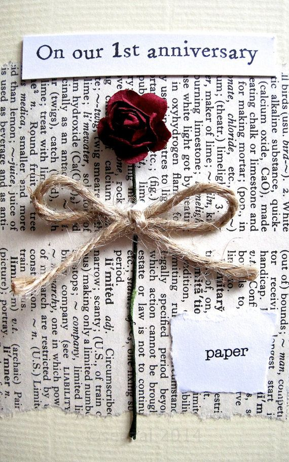 Paper Gifts For Wedding Anniversary: Best 25+ 1st Anniversary Cards Ideas On Pinterest