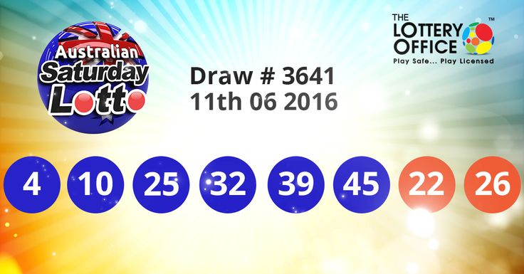 Australian Saturday Lotto winning numbers results are here. Next Jackpot: $22 million #lotto #lottery #loteria #LotteryResults #LotteryOffice