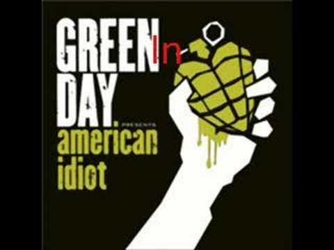 Green Day ~ Holiday