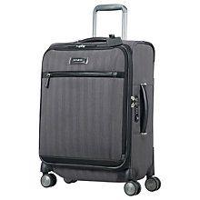 Buy Samsonite Lite DLX Spinner 4-Wheel 55cm Cabin Suitcase Online at johnlewis.com