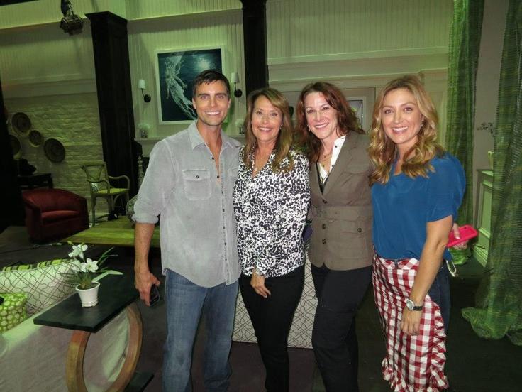 Colin Egglesfield, Lorraine Bracco, Janet Tamaro, and Sasha Alexander | Rizzoli and Isles