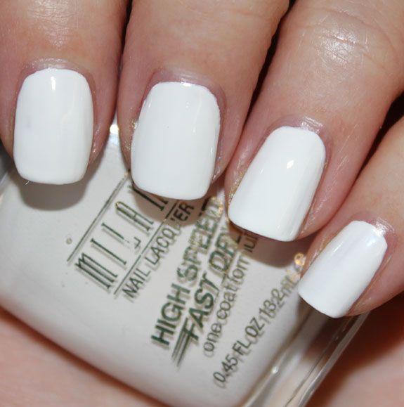 Mejores 305 imágenes de White Nail Polish en Pinterest | Esmalte de ...